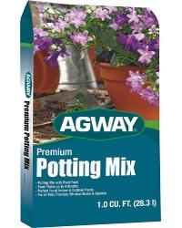 Agway Premium Potting Mix 1 Cf Bag Just $5.99