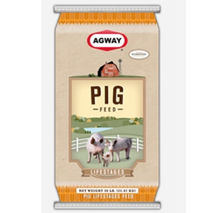 Cargill Agway Life Stages Pig Starter 20% Medicated