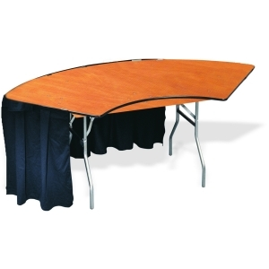 P.S. 100 Series - 5' ID x 10' OD Serpentine Table