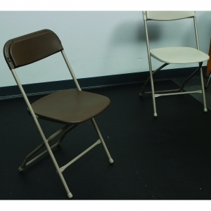Chairs  - Brown Seat and Back, Natural Frame/Feet