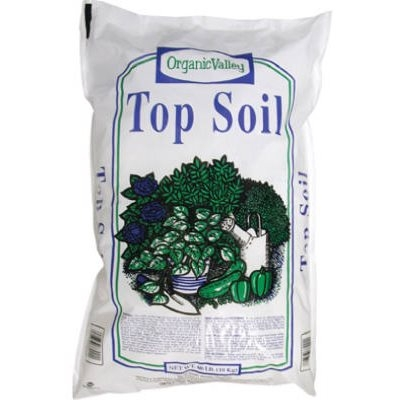 Garick organic valley top soil 40 lbs starkie bros for Organic top soil