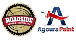 Roadside Lumber & Hardware, Inc. / Agoura Paint Logo
