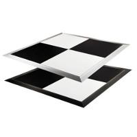 Black & White Indoor & Outdoor Portable Dance Floor