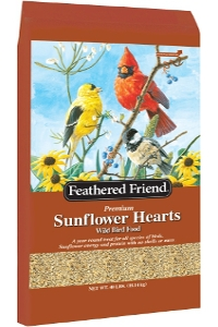 Feathered Friend Sunflower Hearts 40lb $49.99