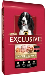PMI Exclusive Chicken & Rice Adult Dog Food