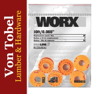 Take $2.00 Off Worx 3-Pack Trimmer Line