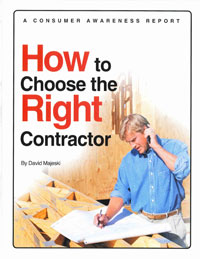 the Right Contractor Report