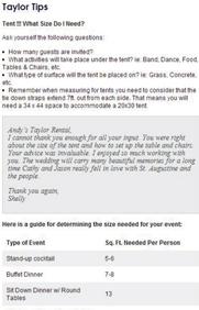 taylor tips