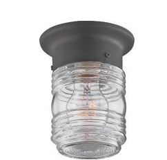Jelly Jar Porch Light Fixture For $4.19