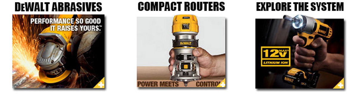 Dewalt - Performance so good it boosts yours