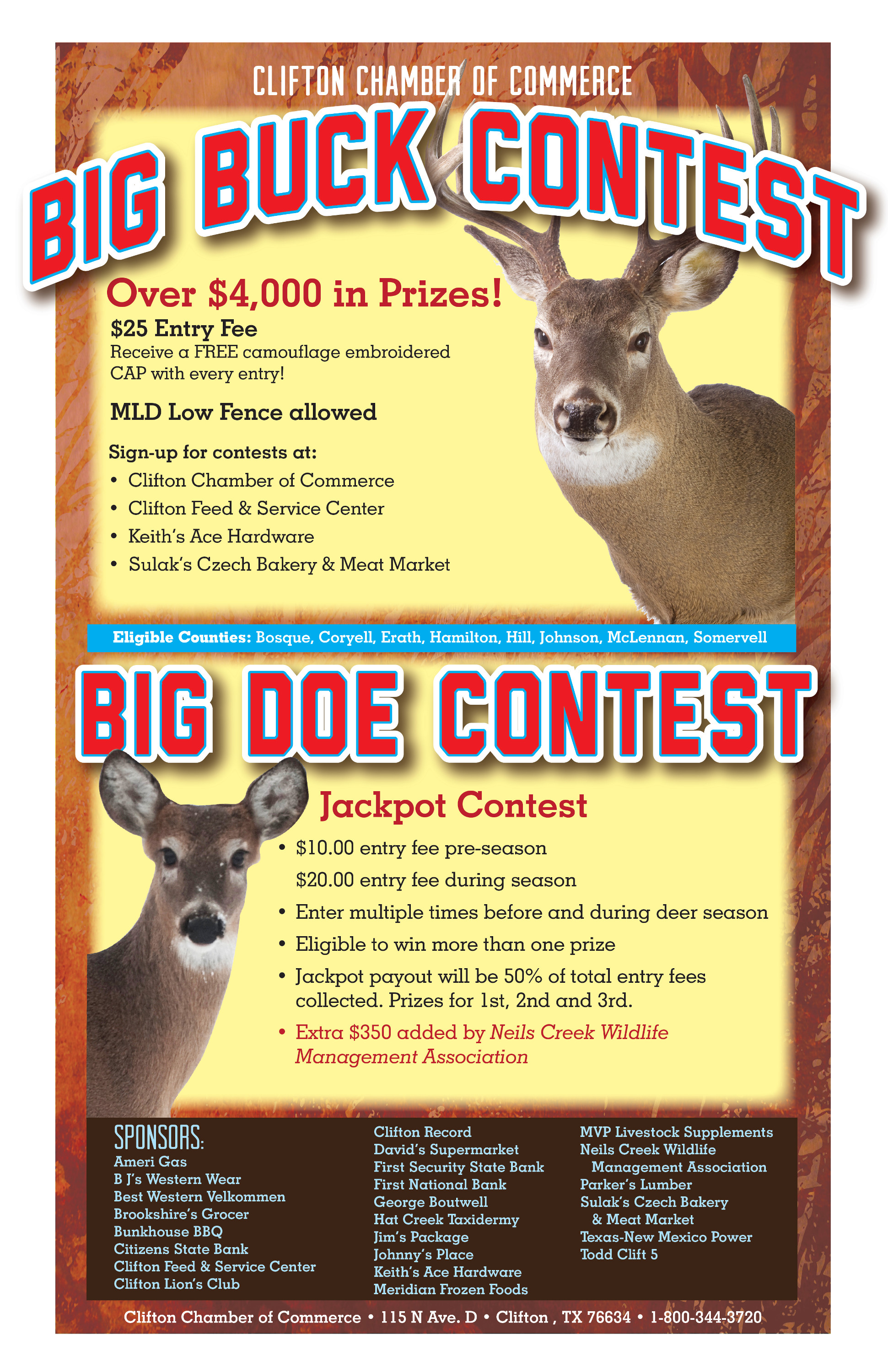 Big Buck & Doe Contest