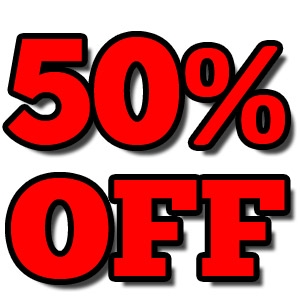 Clearance Sale: 50% OFF