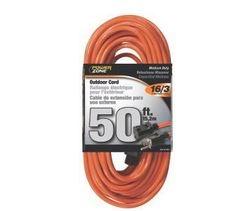 50 Ft. Orange Extension Cord now $9.79