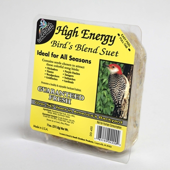 Heath High Energy Bird's Blend Suet 11oz $0.99