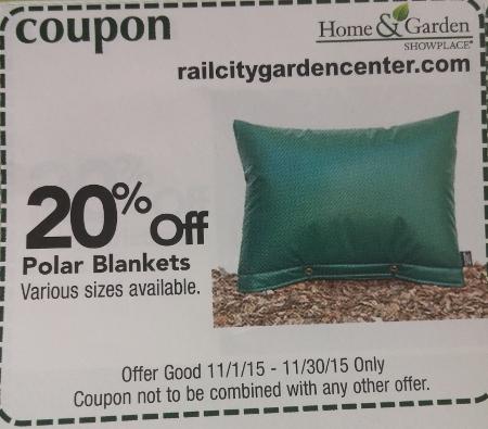 Calendar Coupon: 20% off Polar Blankets