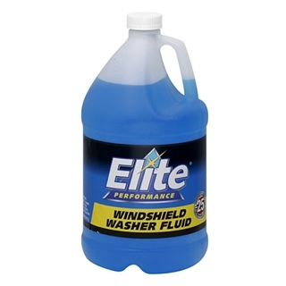 Elite Windshield Washer Fluid 1gal $2.49