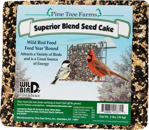 Pine Tree Farms, Superior Blend Seed Cake