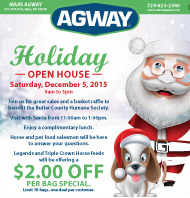 Mars Agway Holiday Open House