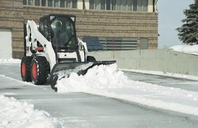 Bobcat Loader for Snow Removal