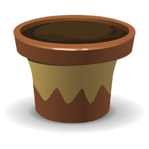 Clay & Ceramic Pottery and Planters