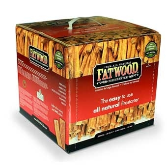 Fatwood Firestarter Box 15lb $22.99