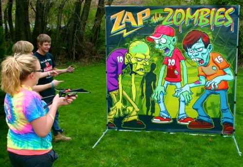 Zap the Zombies Game