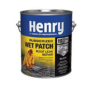 Henry 208R Rubberized Wet Patch Roof Leak Repair 3.3 Gallon
