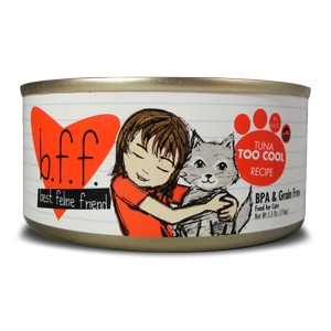 Weruva B.F.F. Tuna Too Cool Cat Food 5.5oz Can