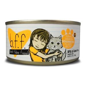 Weruva B.F.F. Tuna & Salmon Soulmates Cat Food 5.5oz Can