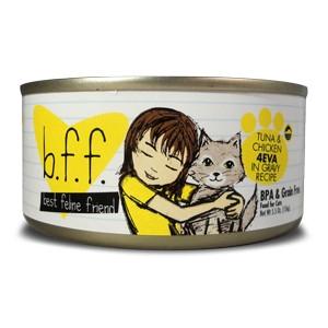 Weruva B.F.F. Tuna & Chicken 4EVA Cat Food 5.5oz Can