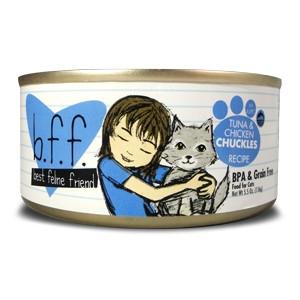 Weruva B.F.F. Tuna & Chicken Chuckles Cat Food 5.5oz Can