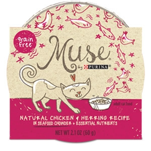 Purina® Muse® Chicken & Herring Recipe Cat Food in Chowder