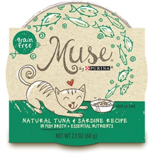 Purina® Muse® Natural Tuna and Sardine Recipe Cat Food in Broth