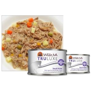 Weruva Truluxe Steak Frites Cat Food 6oz Can