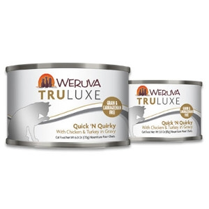 Weruva Truluxe Quick 'N Quirky Cat Food 6oz Can