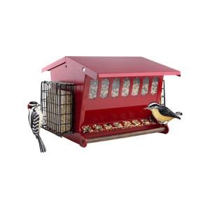 Heritage Farms Seeds 'N More Birdfeeder