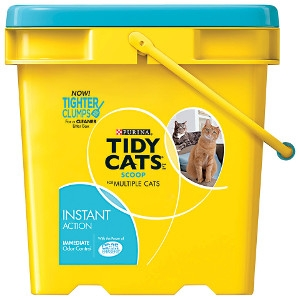Purina Tidy Cats Scoop Instant Action Clumping Litter 27lb Pail