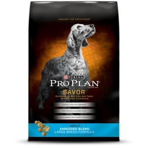 Purina Pro Plan Savor Shredded Blend Large Breed Adult 35lb