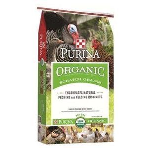 Purina® Organic Scratch Grains