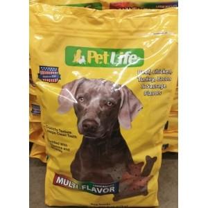 Pet Life Multi Flavor Dog Biscuits