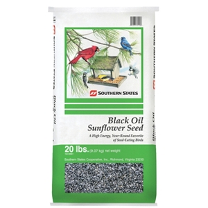 Southern States Black Oil Sunflower Seed 20 lb