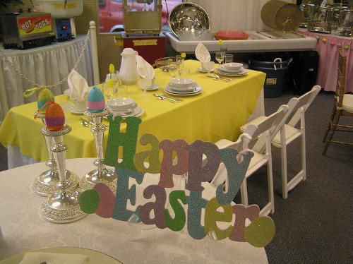 Party Plus Middletown Elegant Easter Table