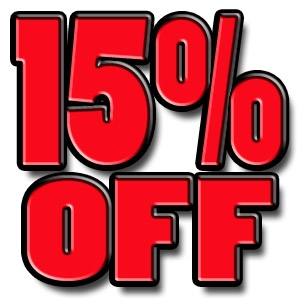 15% OFF Your Next Rental