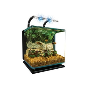 Marineland Contour Aquarium Kit, 3 Gallons