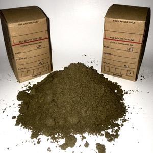 image of soil samples