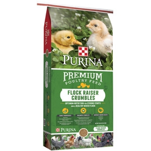 Purina Flock Raiser Crumbles