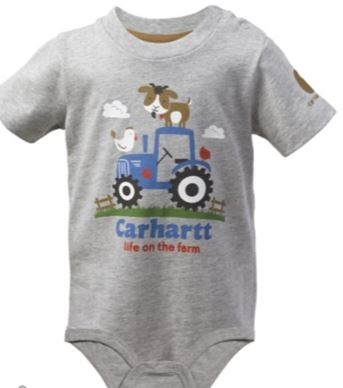 Carhartt Infant/Toddler Life On The Farm Bodyshirt