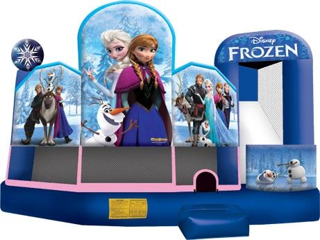 Inflatable 5 & 1 Frozen Combo