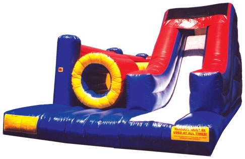 Inflatable Ninja Challenge Obstacle Course