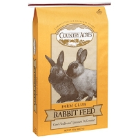 $2 Off Country Acres 50 lb. Rabbit Feed